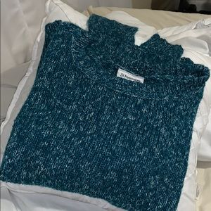 Teal/blue women's sweater